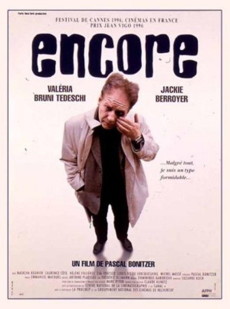 Encore (1996 film) movie poster