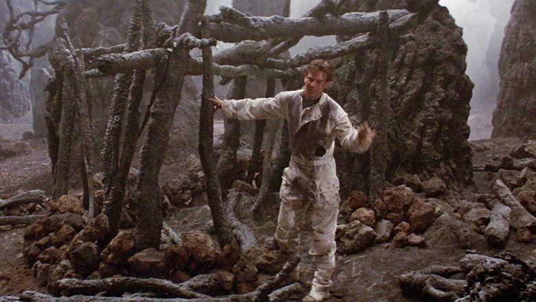 Enemy Mine (film) movie scenes
