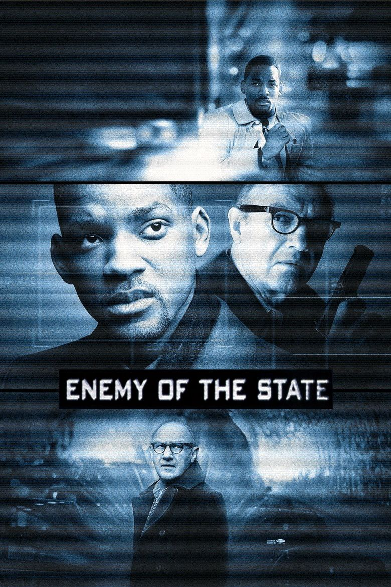 Enemy of the State (film) movie poster