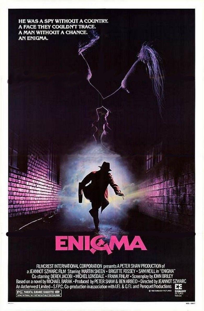 Enigma (1983 film) movie poster