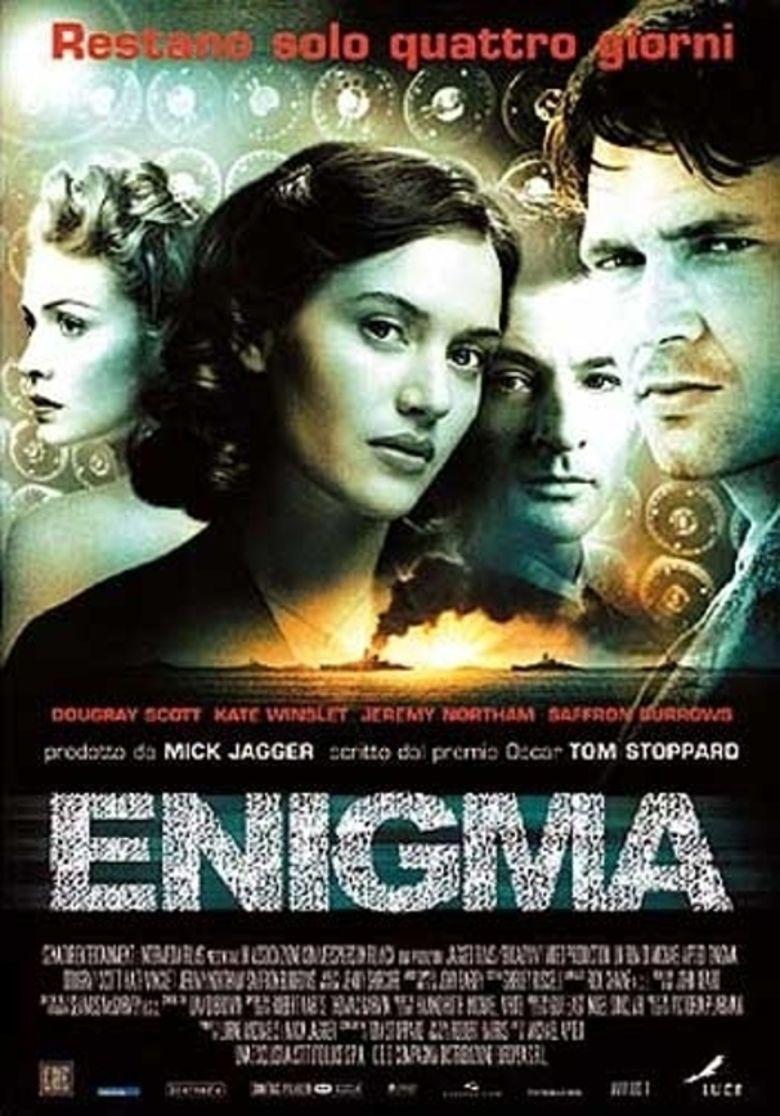 Enigma (2001 film) movie poster
