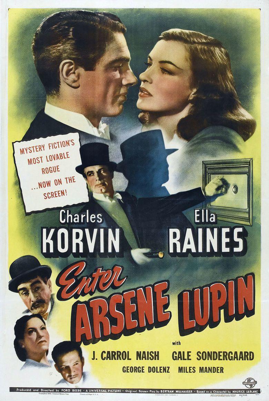 Enter Arsene Lupin movie poster
