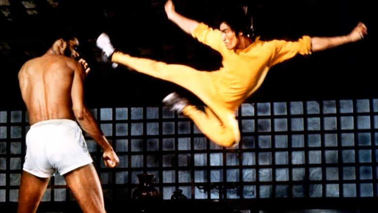 Enter the Game of Death movie scenes