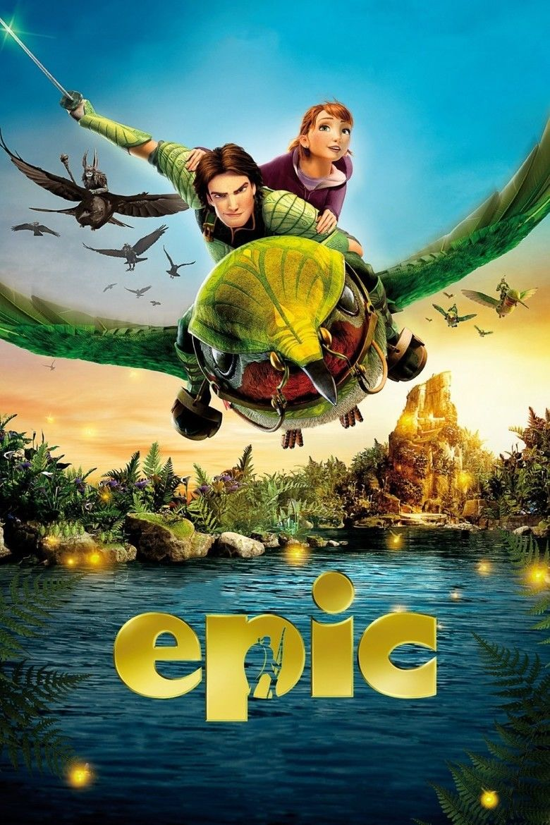 Epic (2013 film) movie poster