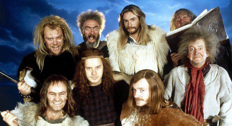 Erik the Viking movie scenes