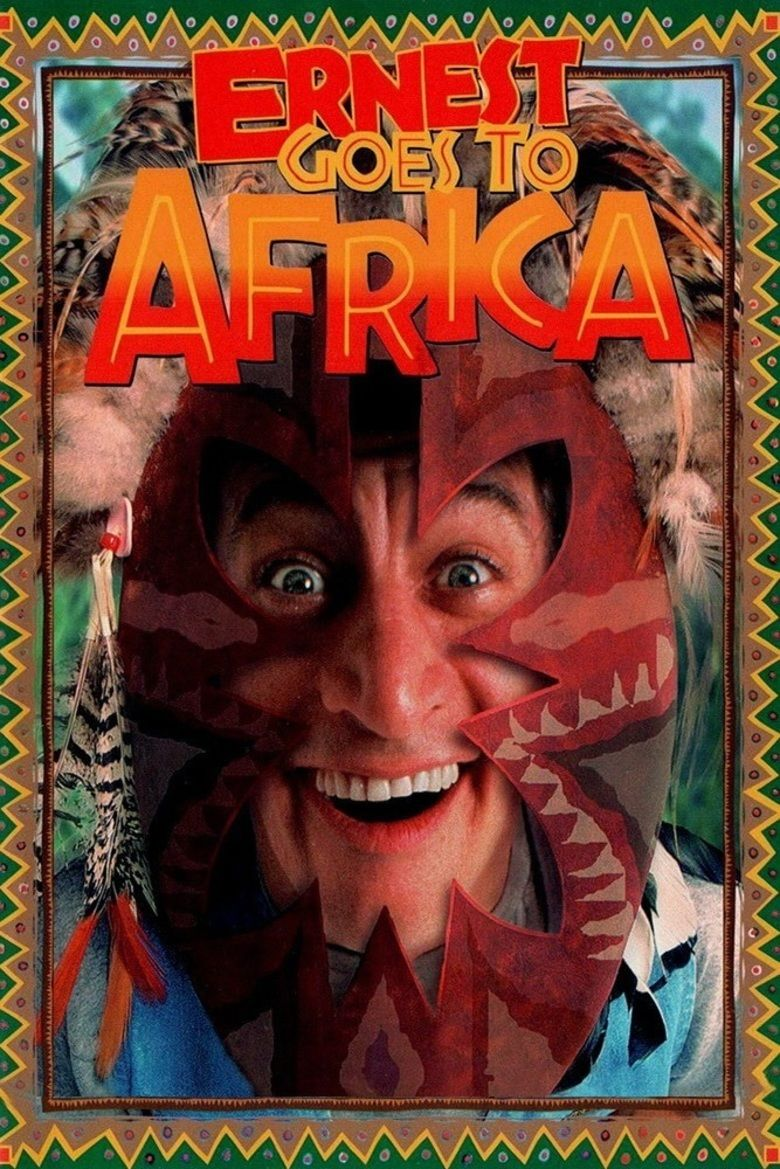 Ernest Goes to Africa movie poster