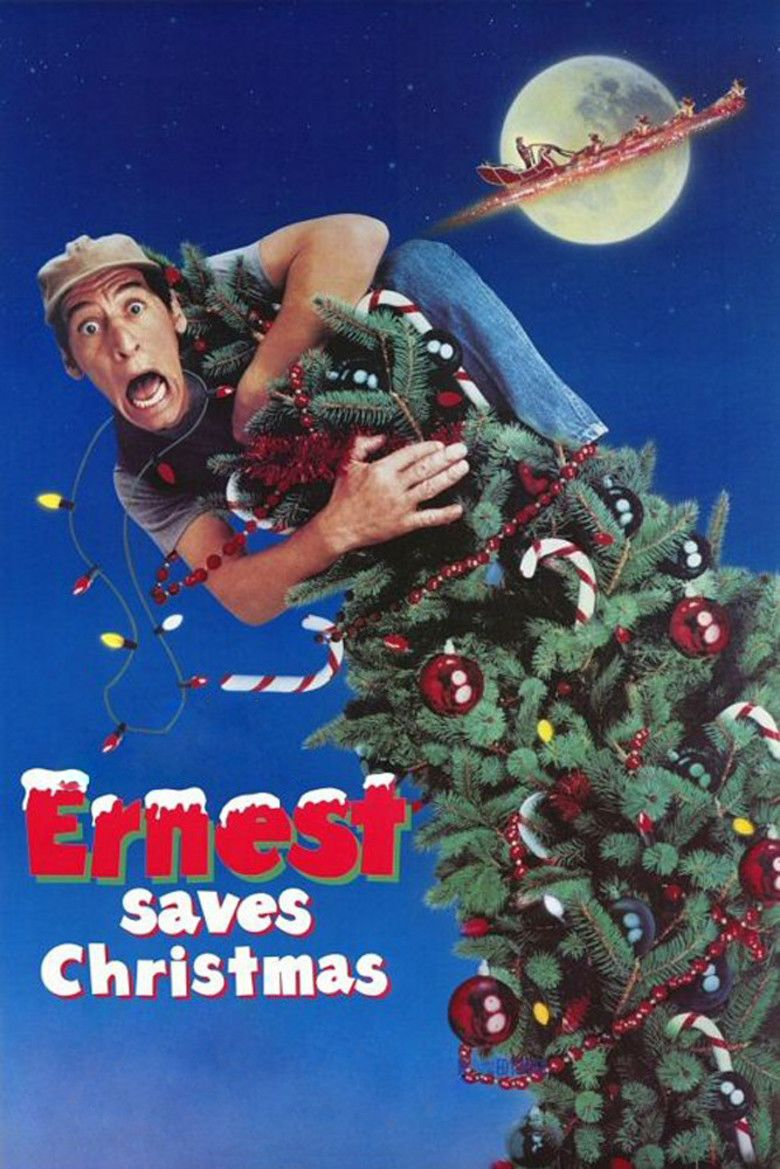 Ernest Saves Christmas movie poster