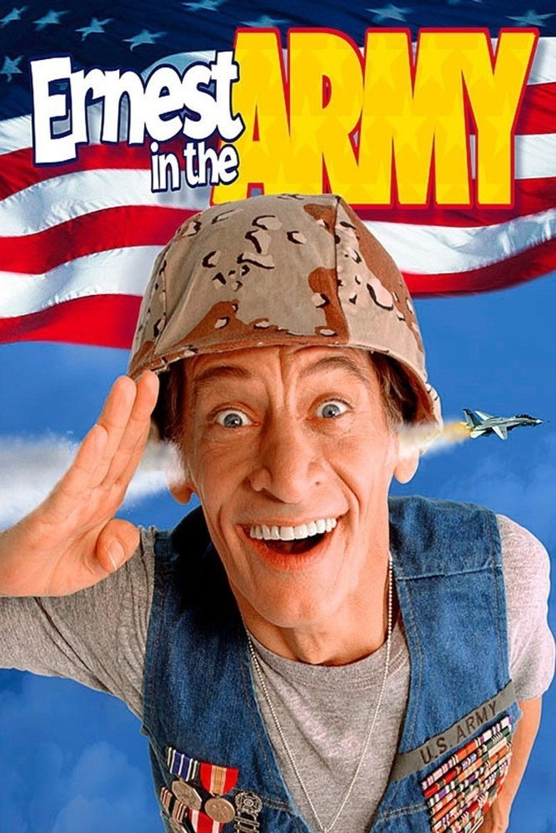 Ernest in the Army movie poster