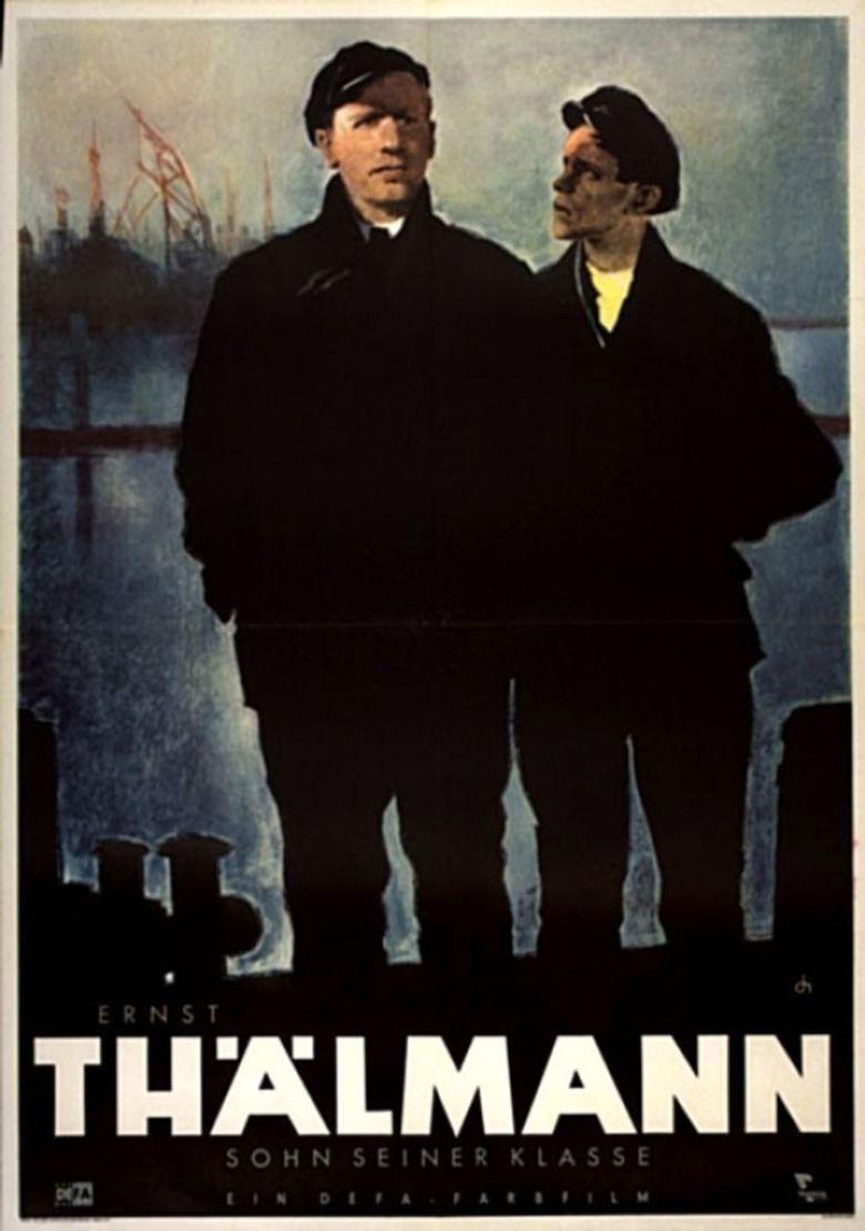 Ernst Thalmann (film) movie poster