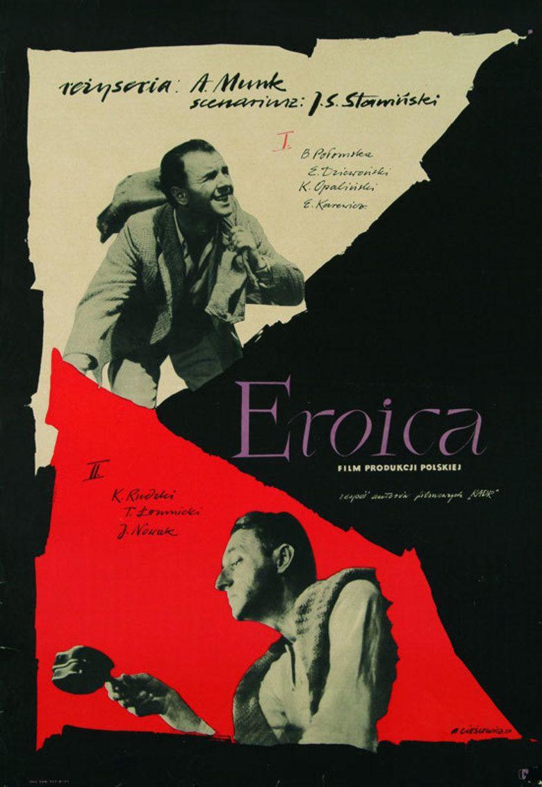 Eroica (1958 film) movie poster
