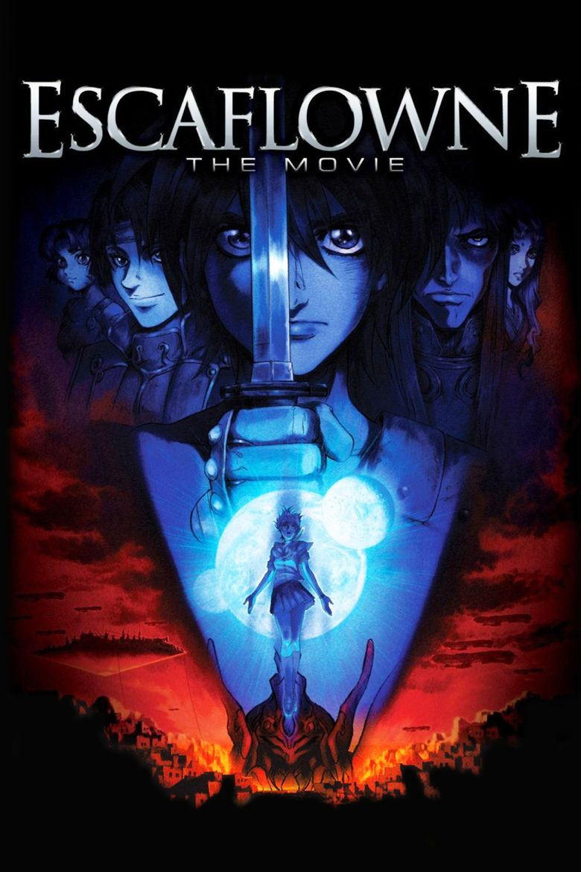 Escaflowne (film) movie poster