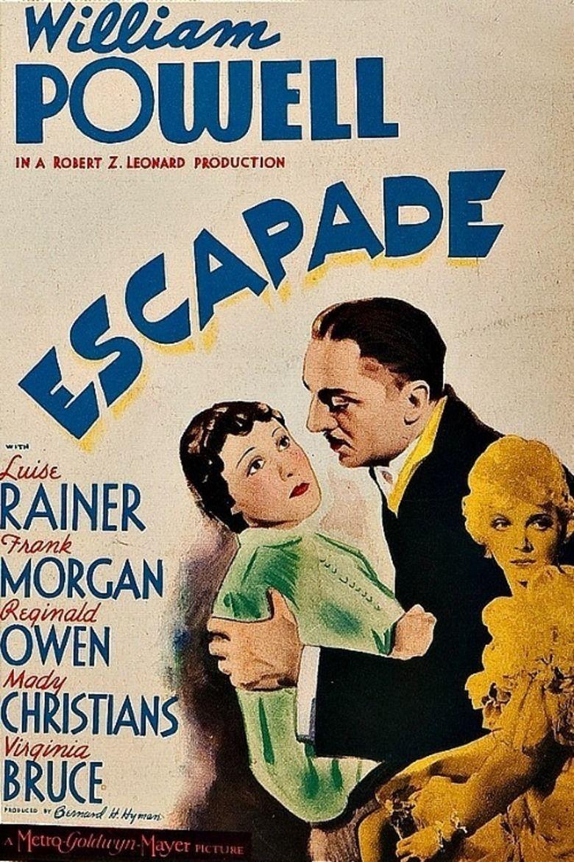 Escapade (1935 film) movie poster