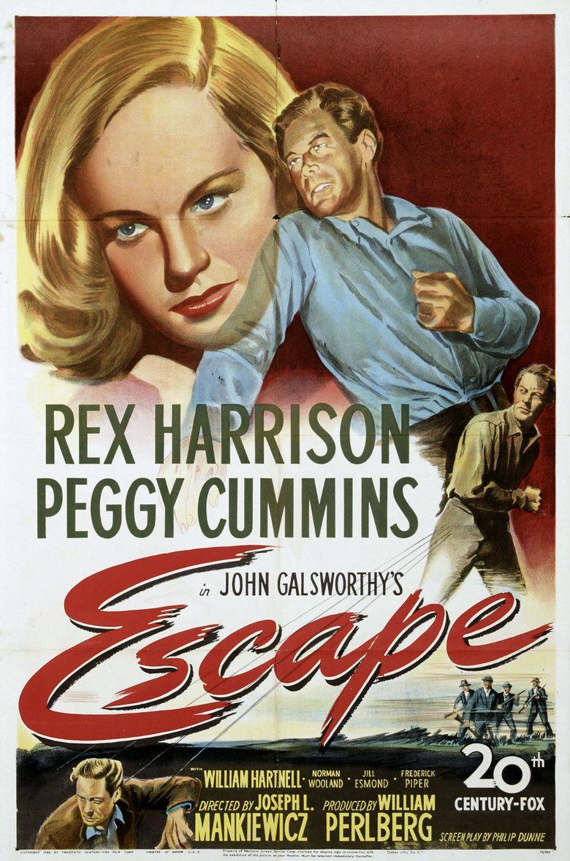 Escape (1948 film) movie poster