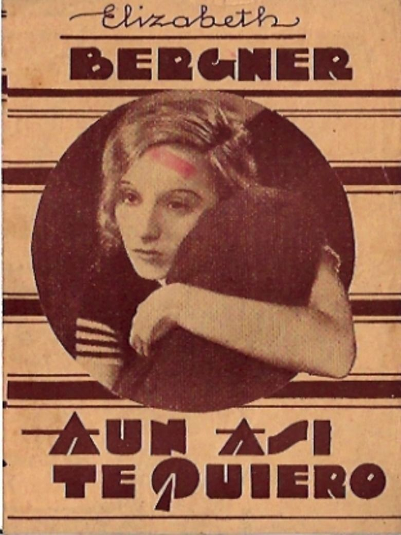 Escape Me Never (1935 film) movie poster