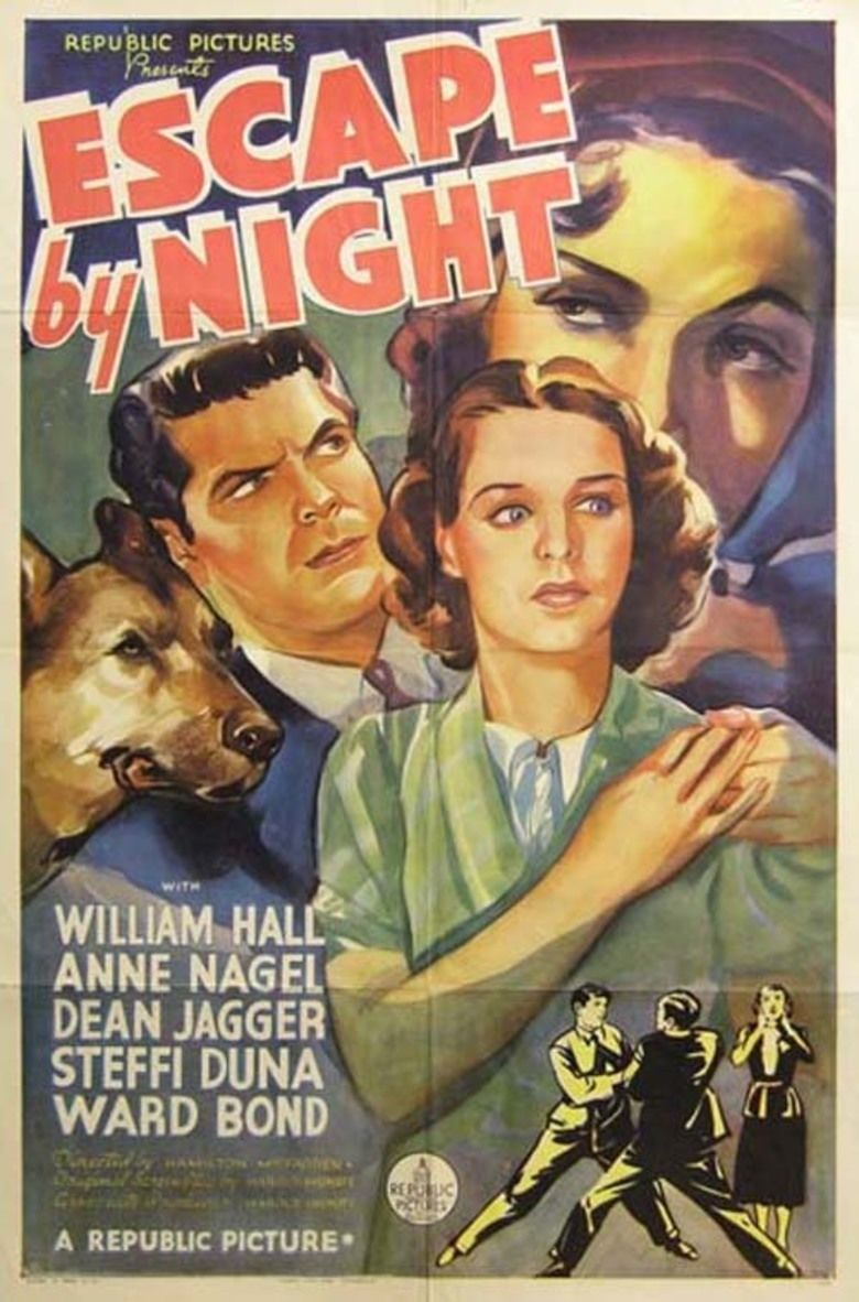 Escape by Night (1937 film) movie poster