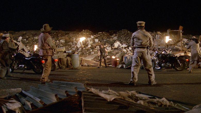 Escape from LA movie scenes
