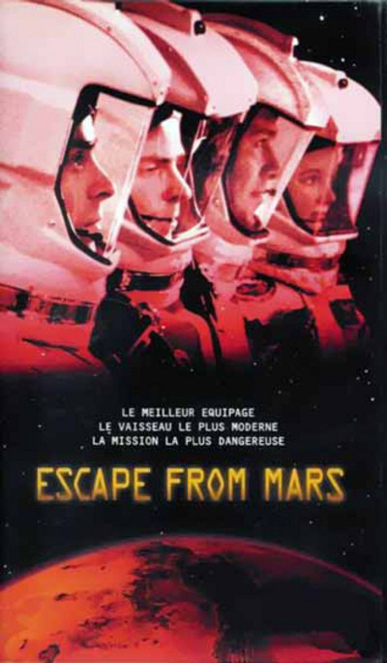 Escape from Mars movie poster