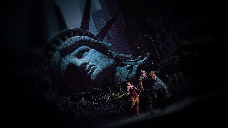 Escape from New York movie scenes