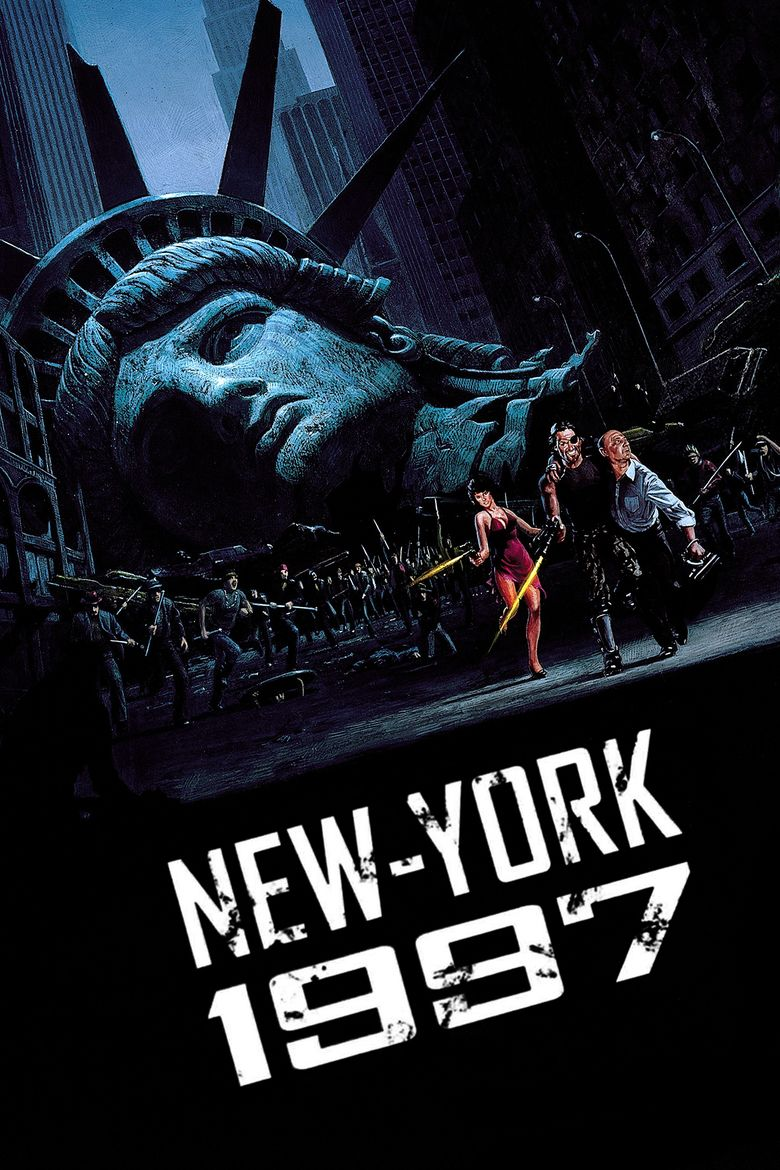 Escape from New York movie poster