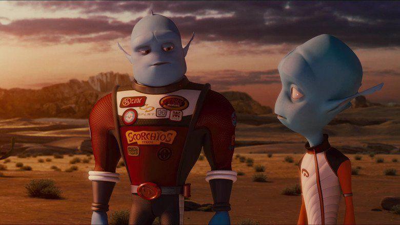 Escape from Planet Earth movie scenes