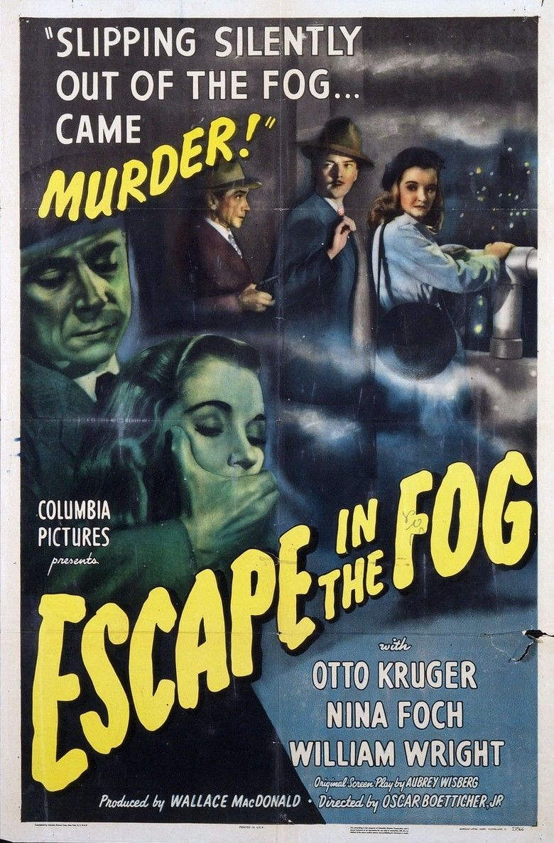 Escape in the Fog movie poster