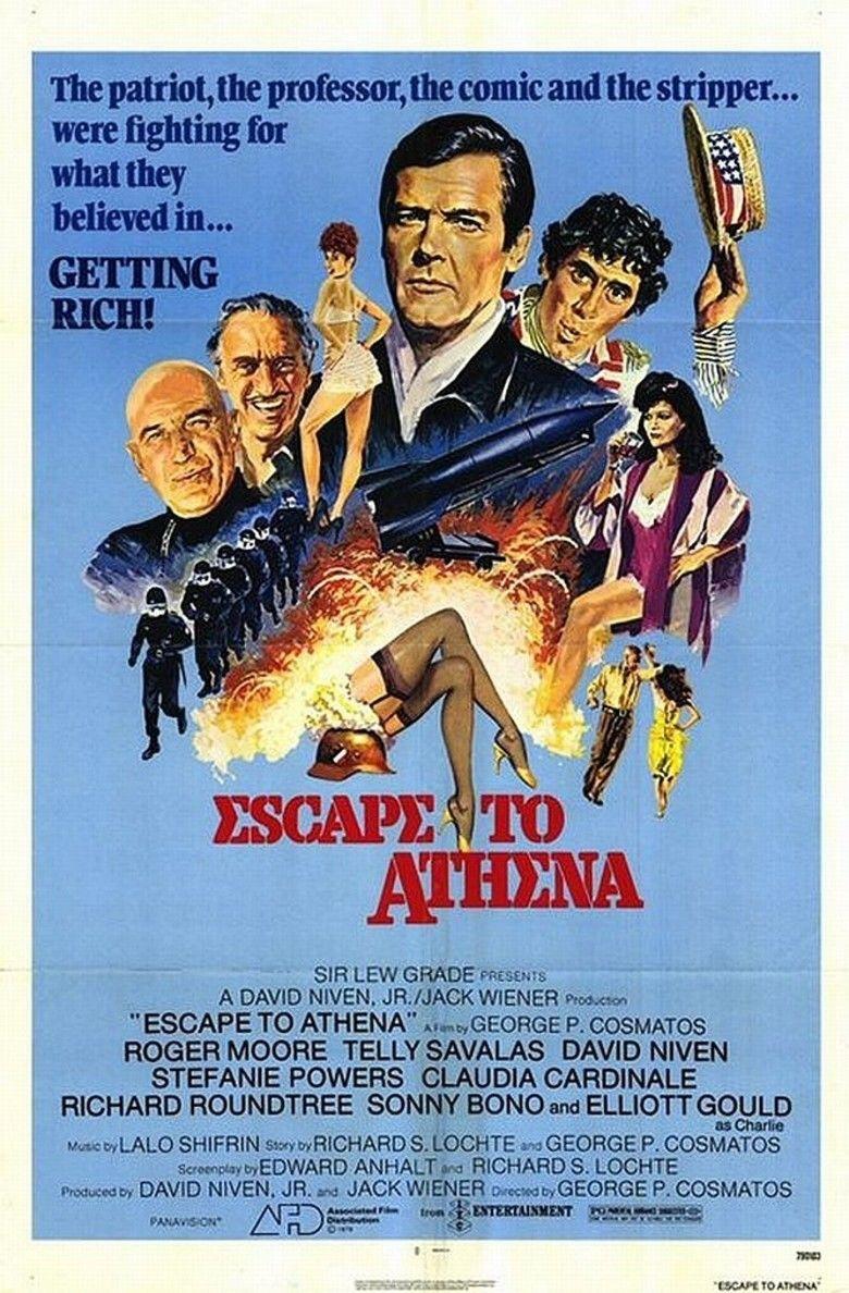 Escape to Athena movie poster