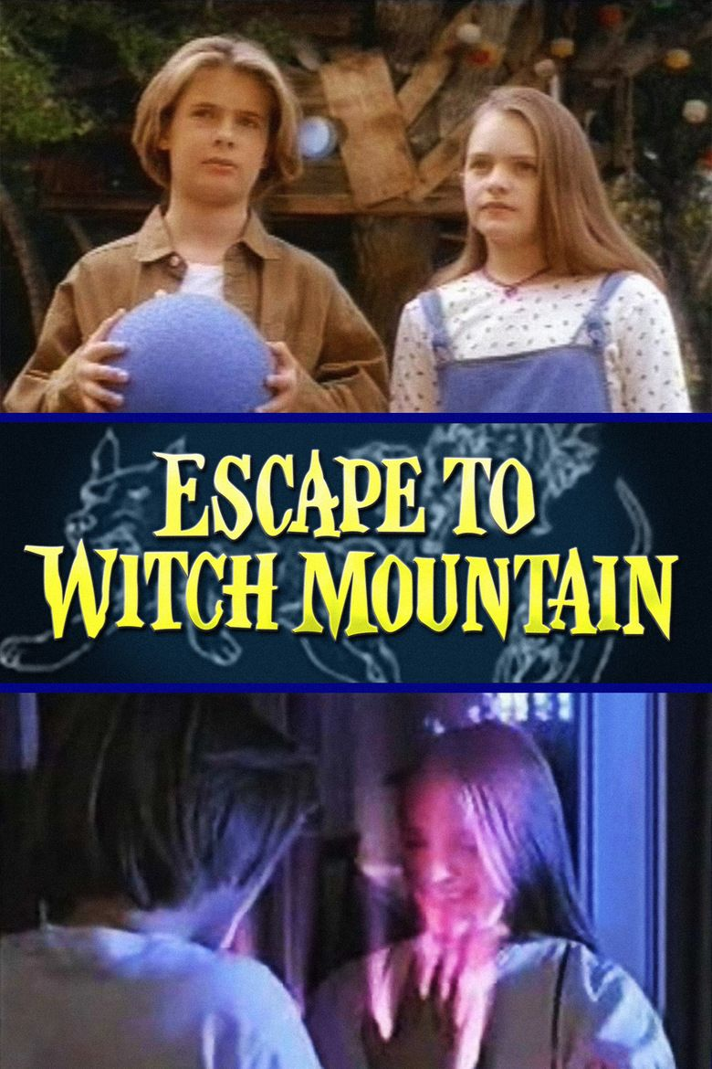 Escape to Witch Mountain (1995 film) movie poster
