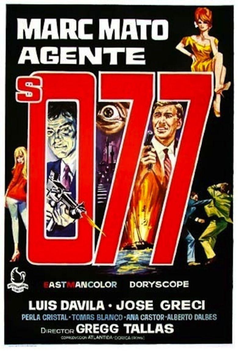 Espionage in Tangier movie poster