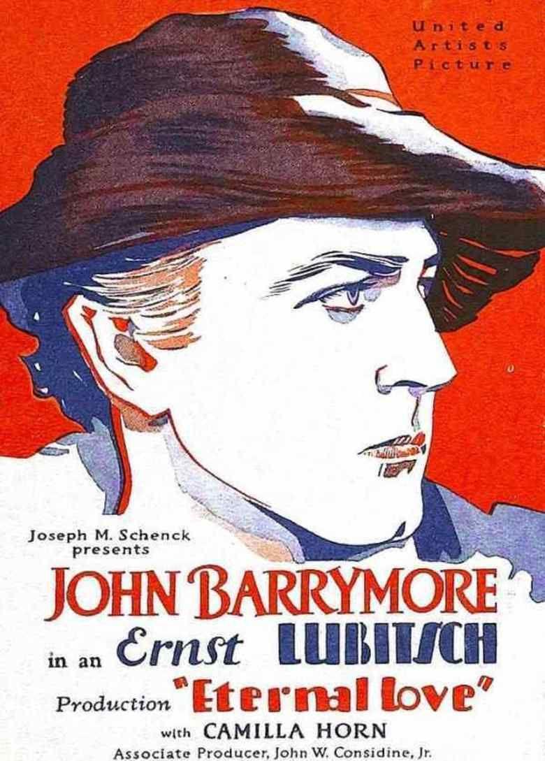 Eternal Love (1929 film) movie poster