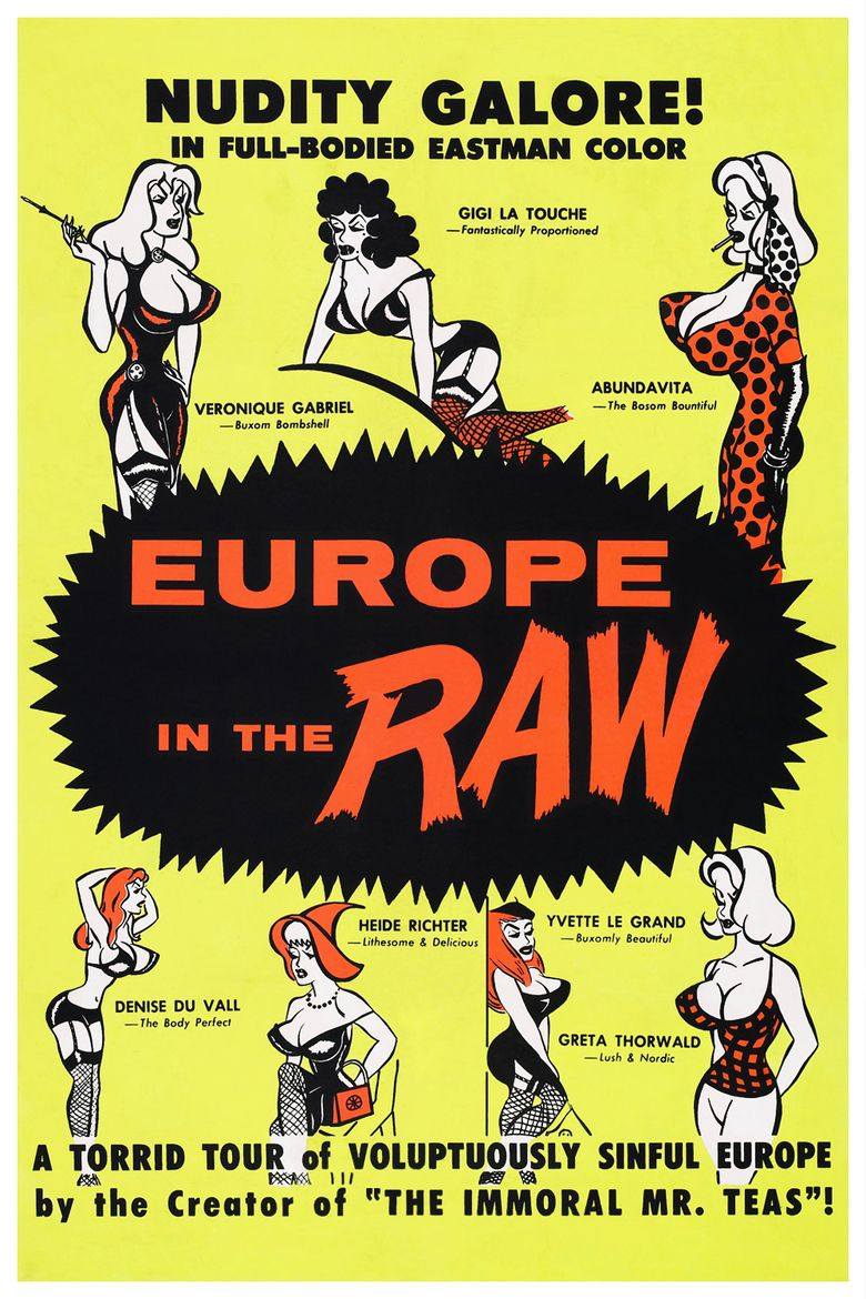 Europe in the Raw movie poster
