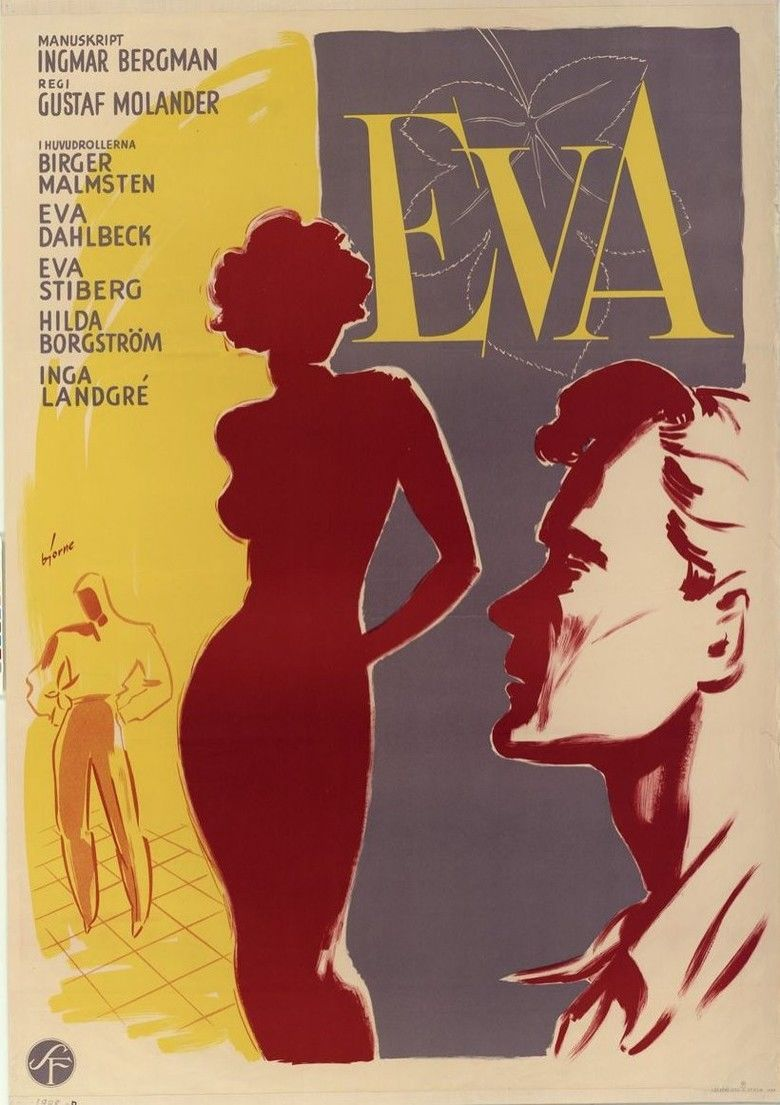 Eva (1948 film) movie poster
