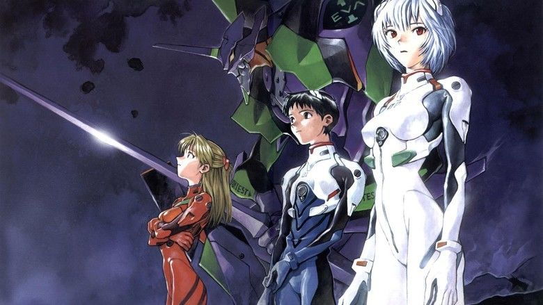 Evangelion: 10 You Are (Not) Alone movie scenes