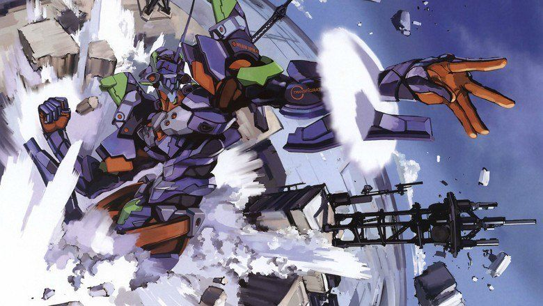Evangelion: 30 You Can (Not) Redo movie scenes