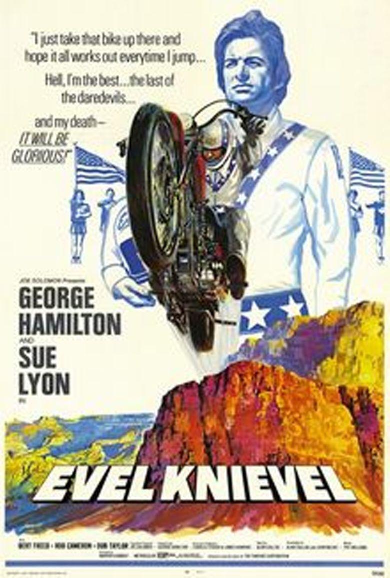 Evel Knievel (film) movie poster