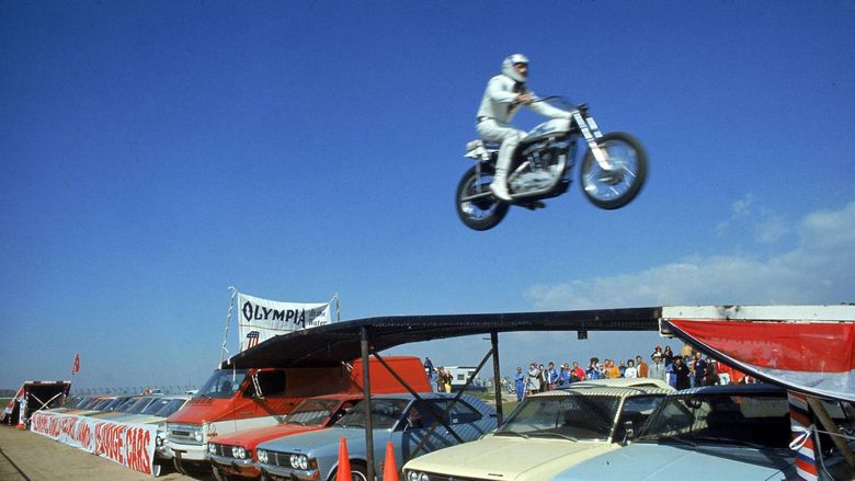 Evel Knievel (film) movie scenes