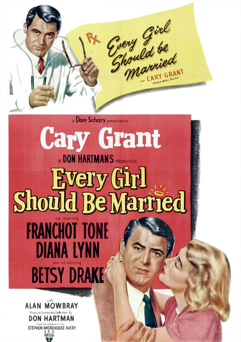 Every Girl Should Be Married movie poster