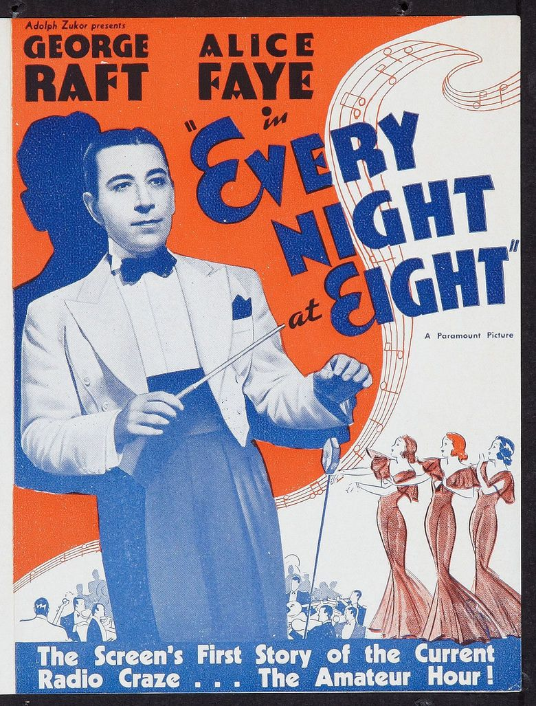 Every Night at Eight movie poster