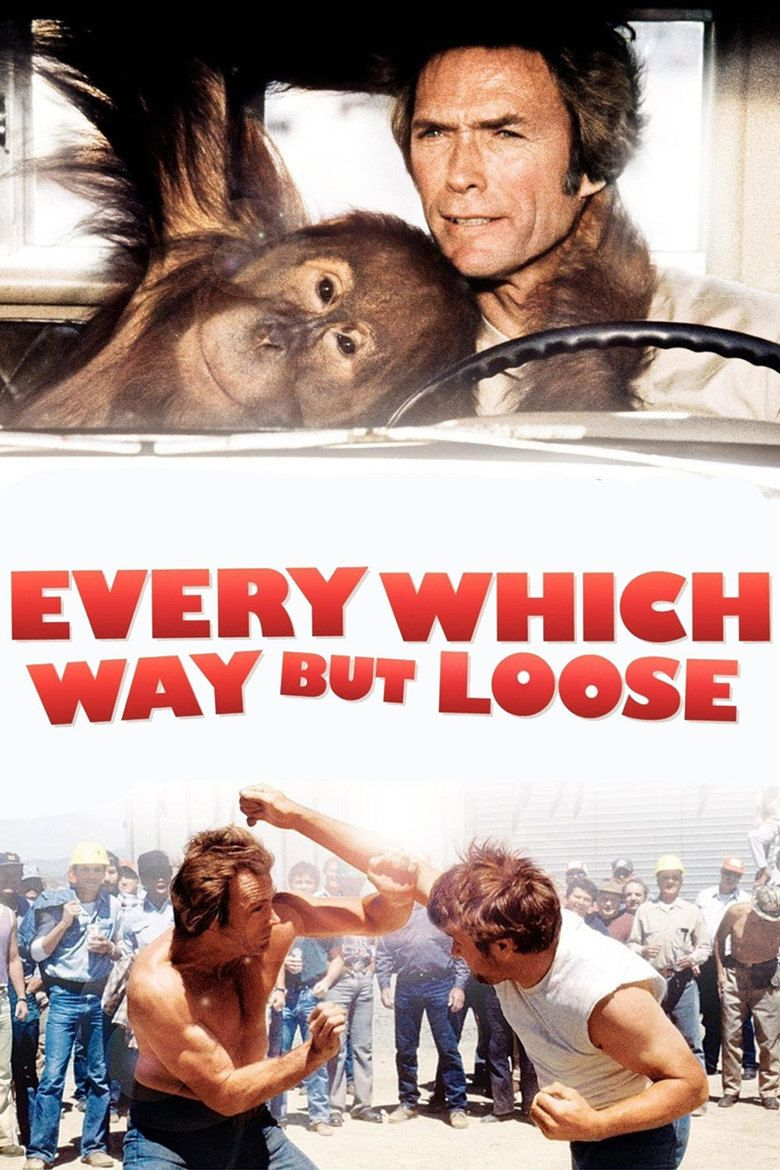 Every Which Way but Loose (film) movie poster