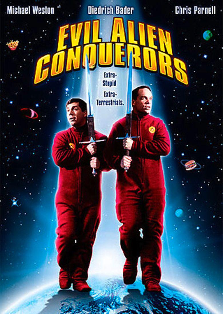 Evil Alien Conquerors movie poster