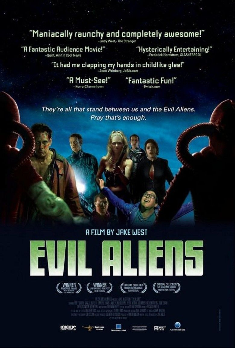 Evil Aliens movie poster