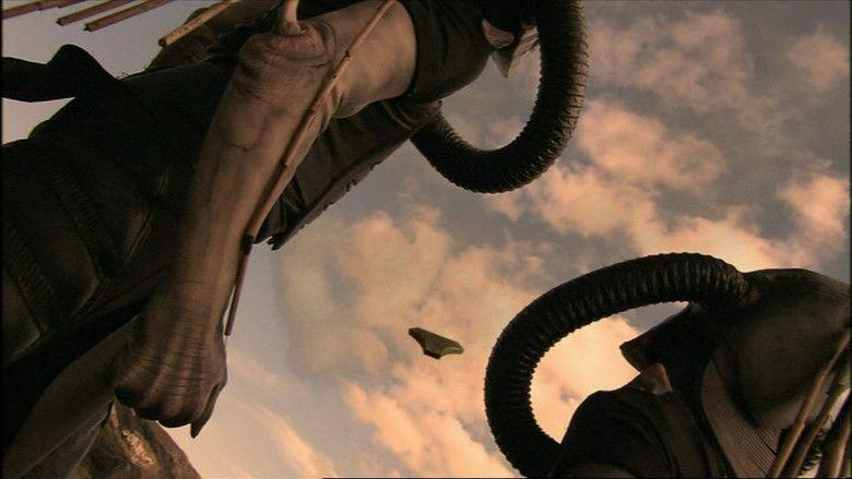 Evil Aliens movie scenes