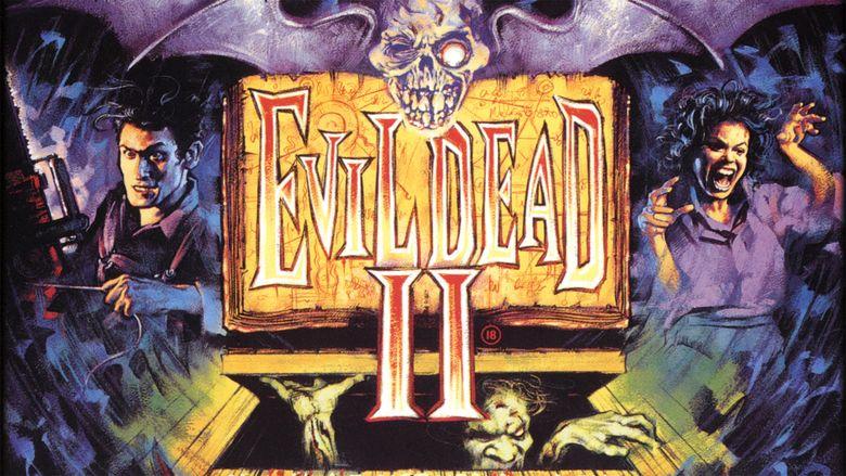 Evil Dead II movie scenes