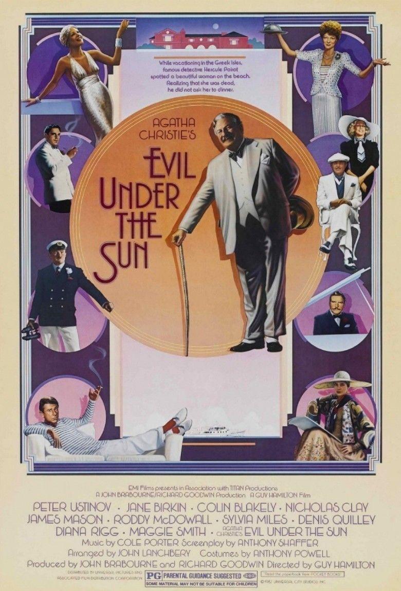 Evil Under the Sun (1982 film) movie poster