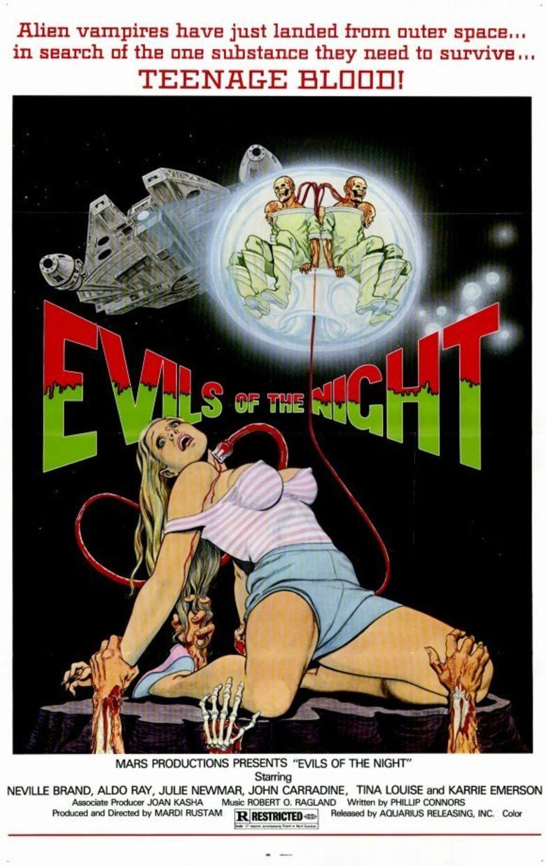 Evils of the Night movie poster