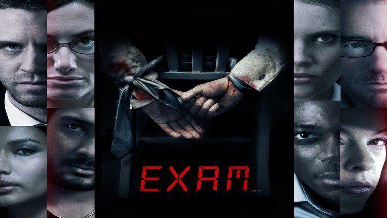 Exam (film) movie scenes