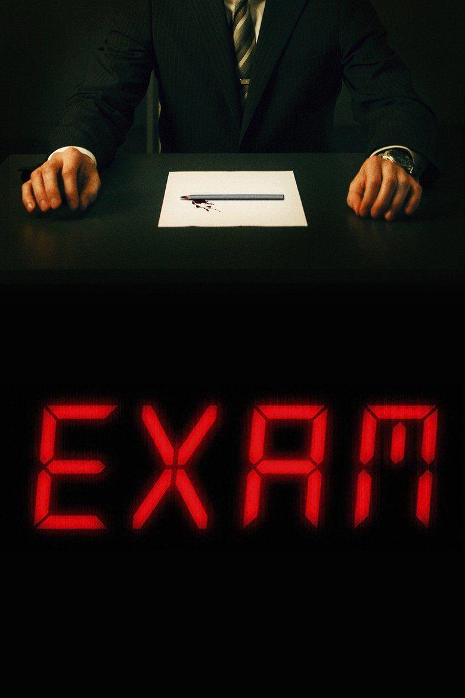 Exam (film) movie poster