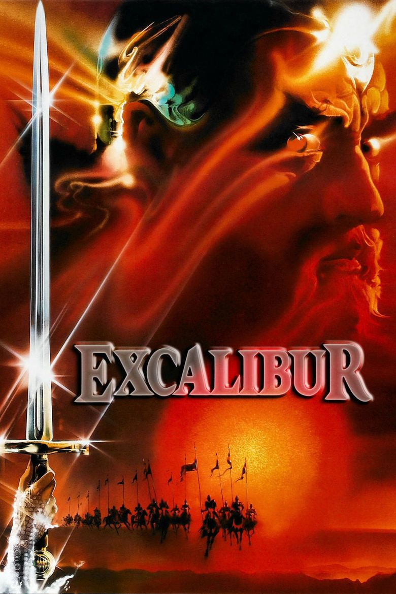 Excalibur (film) movie poster