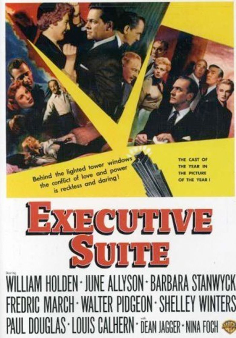 Executive Suite movie poster