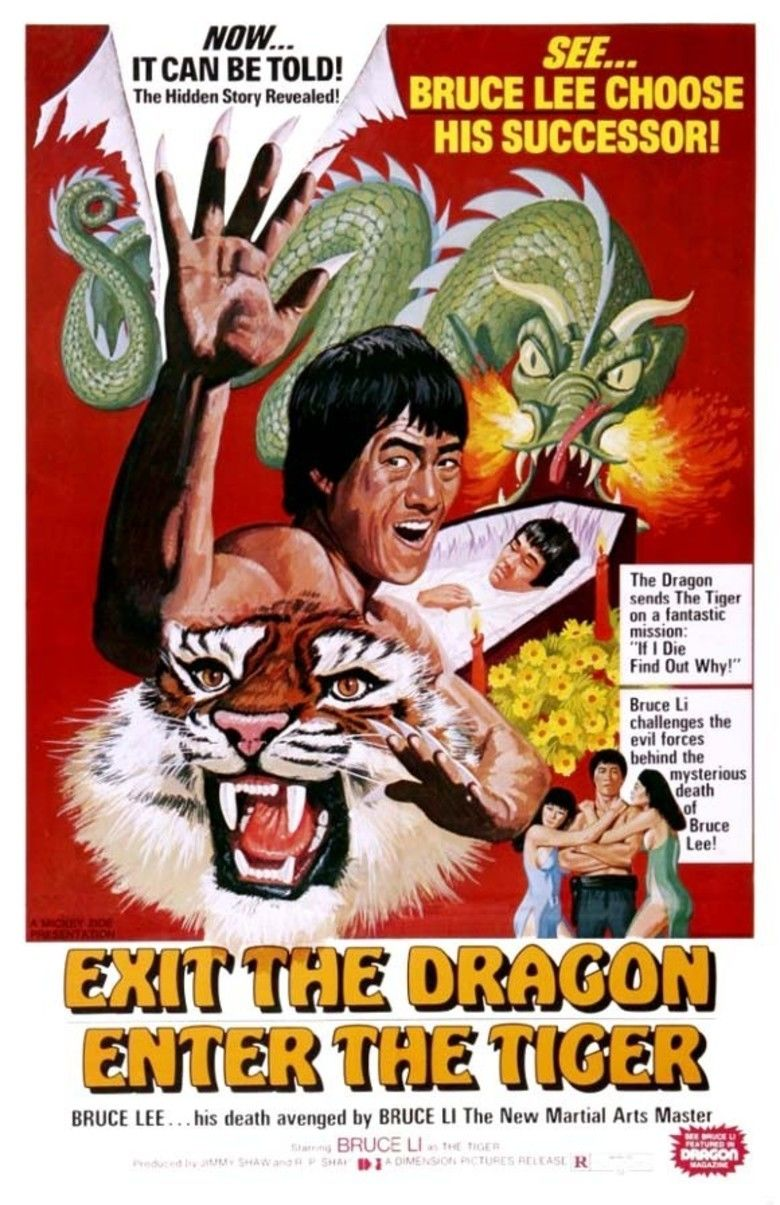 Exit the Dragon, Enter the Tiger movie poster