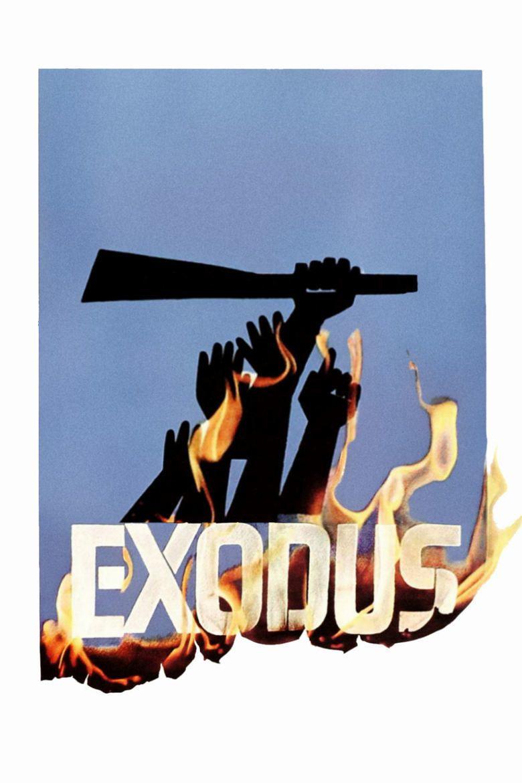 Exodus (1960 film) movie poster